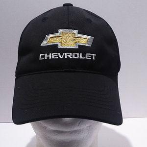 Black Chevrolet Moisture Wicking Hat Cap